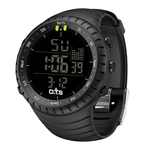 PALADA Men's Digital Sports Watch Waterproof Tactical Watch with LED Backlight Watch for Men ()