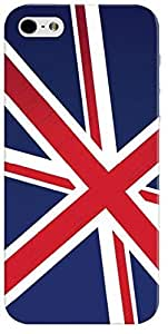 Stylizedd Premium Slim Snap Case Cover Matte Finish for Apple iPhone SE / 5 / 5S - Flag of UK