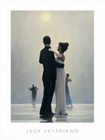 Posters Jack Vettriano Poster Art Print Dance Me To The End Of Love I 20 X 16 Inches