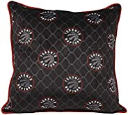 Nemcor NBA Toronto Raptors Decorative Pillow, Black, 18 in x 18 in (91763-PIL-018A-RAPT)