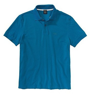 Hugo BossHerren Poloshirt Türkis Turquoise