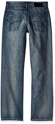 Calvin Klein Jeans Men's Relaxed Straight Jean Chalked Indigo