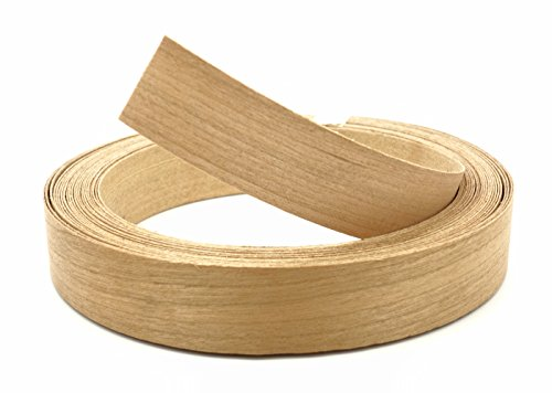 Cherry Wood Veneer Edge Banding Preglued 7/8