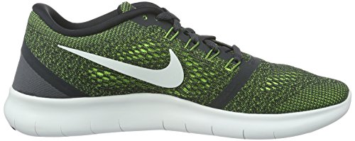 Nike Free Rn - Entrenamiento y correr Hombre Gris (Anthracite / Off White-Volt-Black)