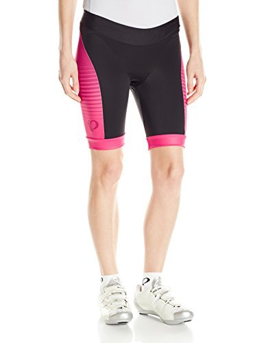 PEARL IZUMI Women's Elite in-R-Cool Tri Shorts, Radiating Rouge Red, X-Small