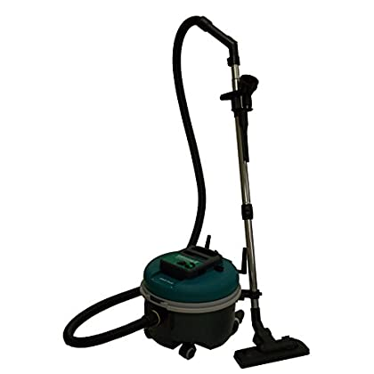 Image of BISSELL BigGreen Commercial Bagged Canister Vacuum, 7.3L Bag Capacity, Green Home and Kitchen