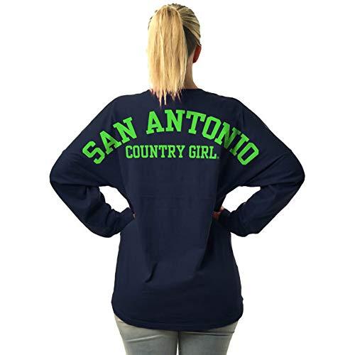 Country Girl Juniors Varsity San Antonio LS Spirit Tee