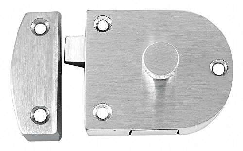 Gate Latch, Satin Chrome