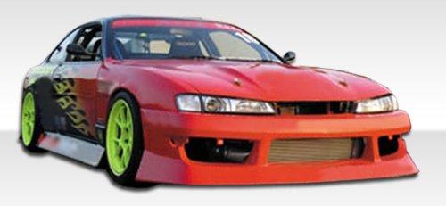 1997-1998 Nissan 240sx Duraflex V-Speed Kit; Includes V-Speed Front Bumper (101901), V-Speed Rear Bumper (101650), and V-Speed Sideskirts (101651). - Duraflex Body (240sx V-speed Rear Bumper)