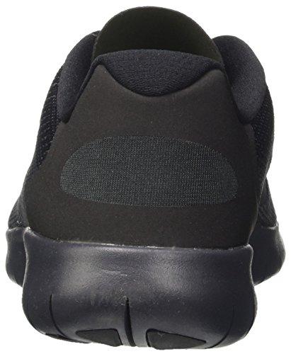 Nike Kids Free Rn (grande) Nero / Antracite / Grigio Scuro