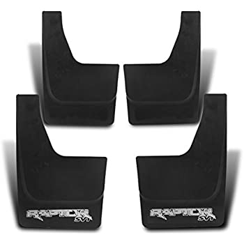 ZMAUTOPARTS Ford F150 F150 Mud Flap Splash Guard Mudguard Black 4Pcs Front+Rear Combo