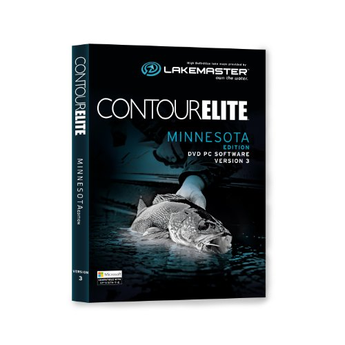Lakemaster 600022-1 Contour Elite Mapping Software - Minnesota by LAKEMASTER