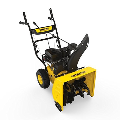 Champion 224cc Compact 24-Inch 2-Stage Gas Snow Blower with Electric Start ()