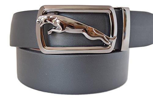 eurodesign-jaguar-genuine-leather-adjustable-belt-for-men-40-47-silver