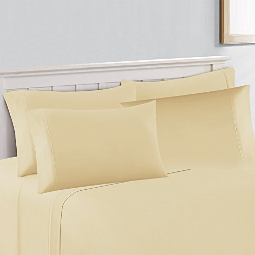 Hotel Collection 500 Thread (Hotel Collection 500 Thread Count sateen Sheet Set, King, Ivory)