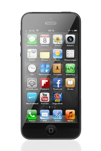 Apple iPhone 5 16GB Verizon Wireless CDMA 4G LTE Cell Phone - Black. (4 Apple Unlocked Iphone)