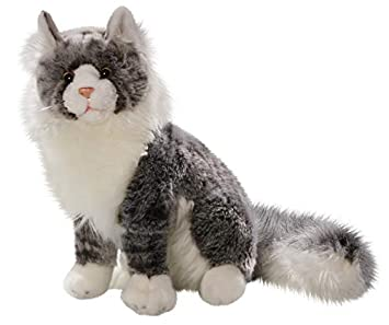 Cat, Maine Coon, 14 inches, 35cm, Plush Toy, Soft Toy 2902