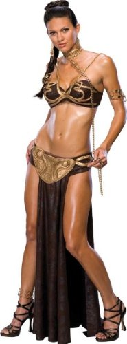 Princess Leia Slave Costume - Small - Dress (Princess Leia Costume Slave)