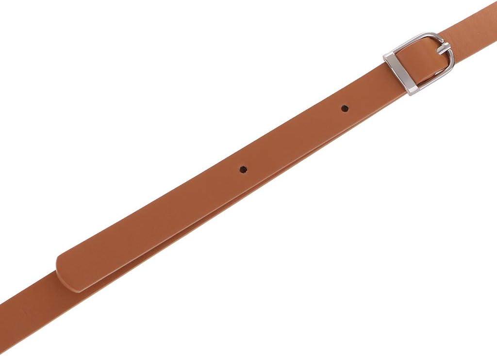 chiwanji 2pcs Sangle de Rechange Sangles en Cuir PU R/églable avec Boucle Pivotante pour Sac /à Main DIY