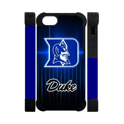 NCAA Duke Blue Devils Logo Ramos iPhone 5 5S Perfect Color Match Cover Case for Fans