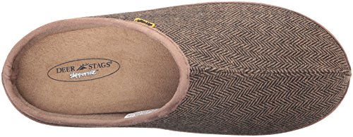 Deer Stags Mens Wherever Slipper Brown 4rZ4P5