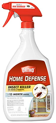 Ortho 0196410 Home Defense MAX Insect Killer Spray for Indoor and Home Perimeter, 24-Ounce (Ant, Roach, Spider, Stinkbug…