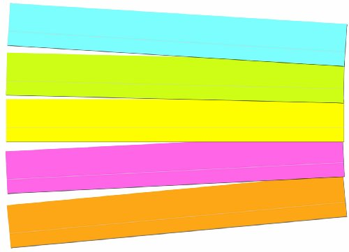 Carson Dellosa Sentence Strips, Lined Multicolored Sentence Strips (4451)