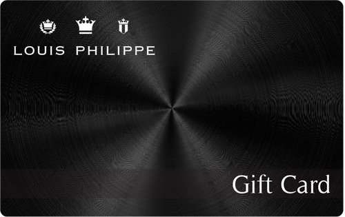 Flat 9% Off||Louis Philippe Gift Card