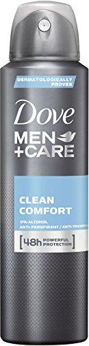 Dove Men+Care Deospray Clean Comfort  Anti-Transpirant, 3er Pack (3x 150 ml)