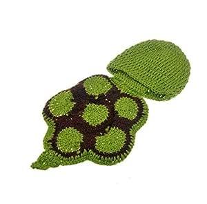 Baby Newborn Turtle Costume Photo Photography Prop 0-6 mon