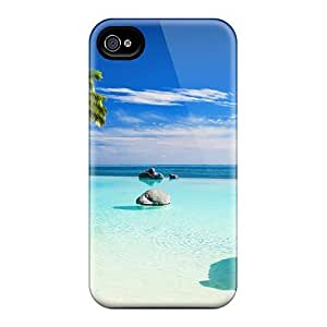 4/4s Scratch-proof Protection Case Cover For Iphone/ Hot Welcome To Paradise Phone Case