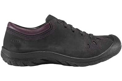 KEEN Women's Barika Lace Shoe,Black,5.5 M US