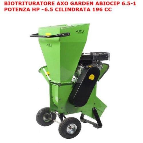 Häcksler biocippatore cippatore Axo Garden abiocip 6.5–1A