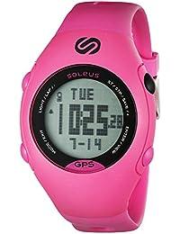 Women's SG006-611 GPS Mini Digital Display Quartz Pink Watch
