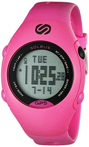 Soleus Women's SG006-611 GPS Mini Digital Display Quartz Pink Watch