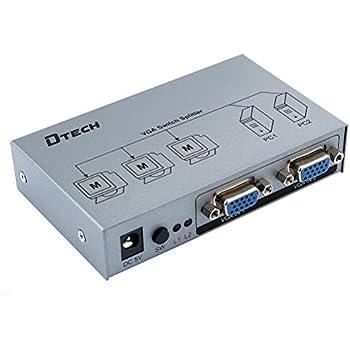 Amazon.com: DTECH 8 Way Outs VGA Video Splitter Amplificador ...
