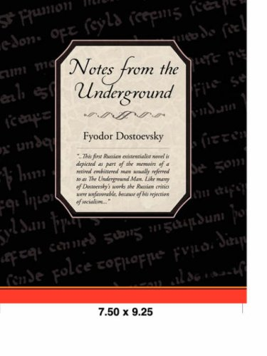 Read Online Notes from the Underground ebook