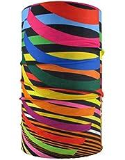 HeadLOOP multifunctionele doek kleurrijke strepen loop slangdoek sjaal halsdoek hoofddoek microvezel
