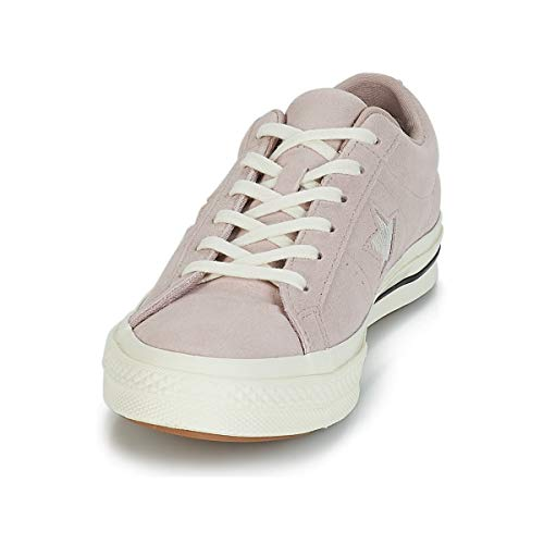 Unisex Lifestyle Converse Adulto diffused silver Ox Zapatillas Multicolor 055 Star Taupe egret One rxdXRnxY