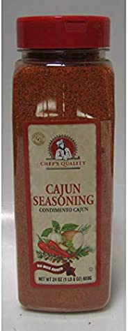 Chefs Quality Chef's Quality Cajun Seasoning 24 Oz, 24 Ou