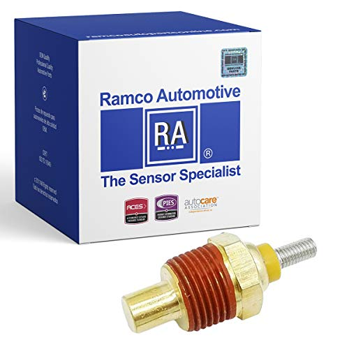 - Ramco Automotive, Engine Coolant Temperature Sensor, Compatible with Wells TU25, Standard Motor Products TS58 (RA-TS1209)