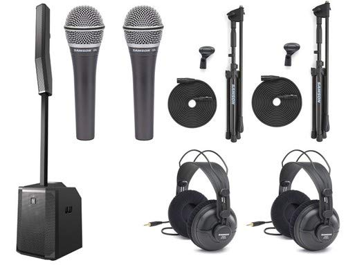 Electro-Voice Evolve 50 Portable PA System with Two Microphones and Headphones - Electro Voice Headphones
