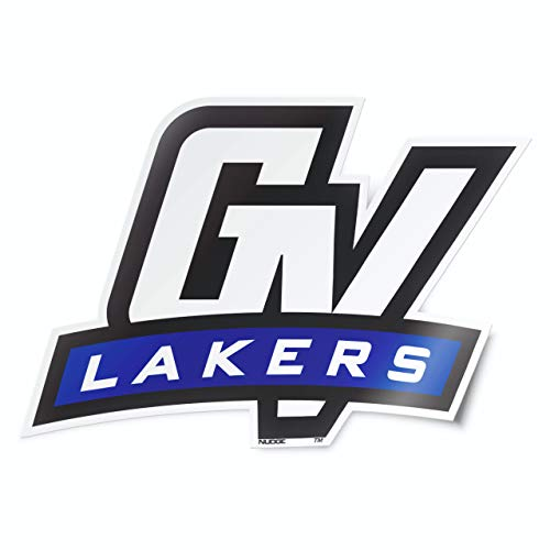 Nudge Printing Grand Valley State University GVSU Lakers GV Car Window Decal Bumper Sticker Emblem Laptop Sticker