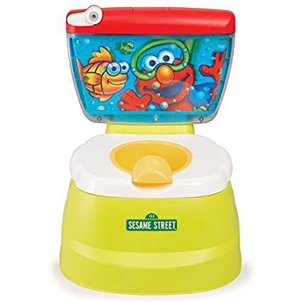 Sesame Street Elmo Hooray 3 In 1 Potty Chair Toilet Trainer Potties Seats Kids