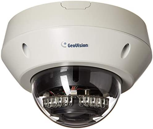 Geovision GV-EVD3100 3MP H.264 Super Low Lux WDR Pro IR Vandal Proof IP Dome White