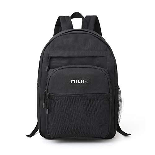 MILKFED. SPECIAL BOOK Big Pocket Backpack BLACK 付録