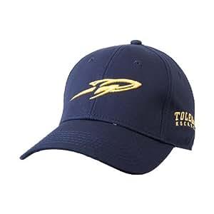 b723b644a06ce Amazon.com   Toledo Navy Heavyweight Twill Pro Style Hat  Rocket ...