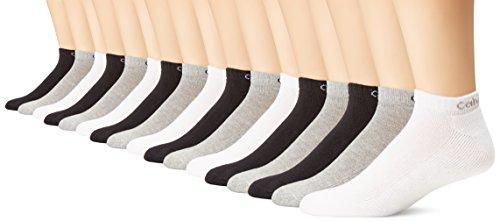 Calvin Klein Men's 6 Pair Bonus Liner, Assorted, (Calvin Klein Mens Casual Socks)