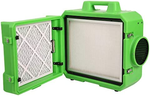 MOUNTO Air Scrubber Hepa Filter Renovation Air Cleaner Dust Cleaner MT500