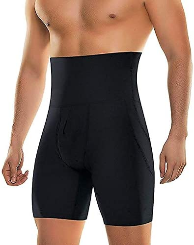Men Tummy Control Shapewear  Body Shaper High Waist  Bdomen Trim Slimming Shorts